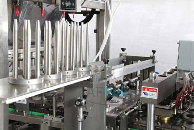 K cup coffee capsule filling machine