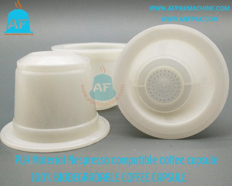 PLA coffee capsule