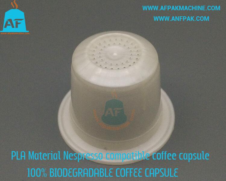 biodegradable coffee capsule bottom