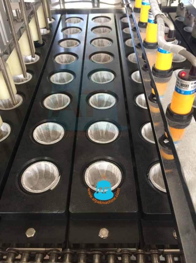 sensors of kcup filling machine