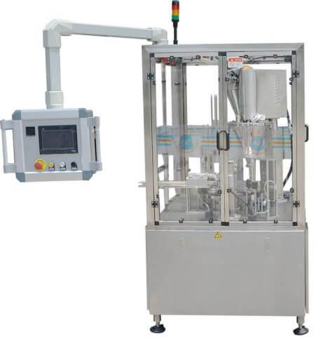 K cup filling sealing machine