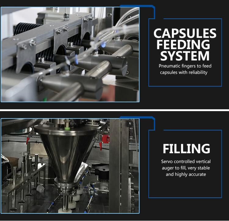 K-fee filling sealing machine