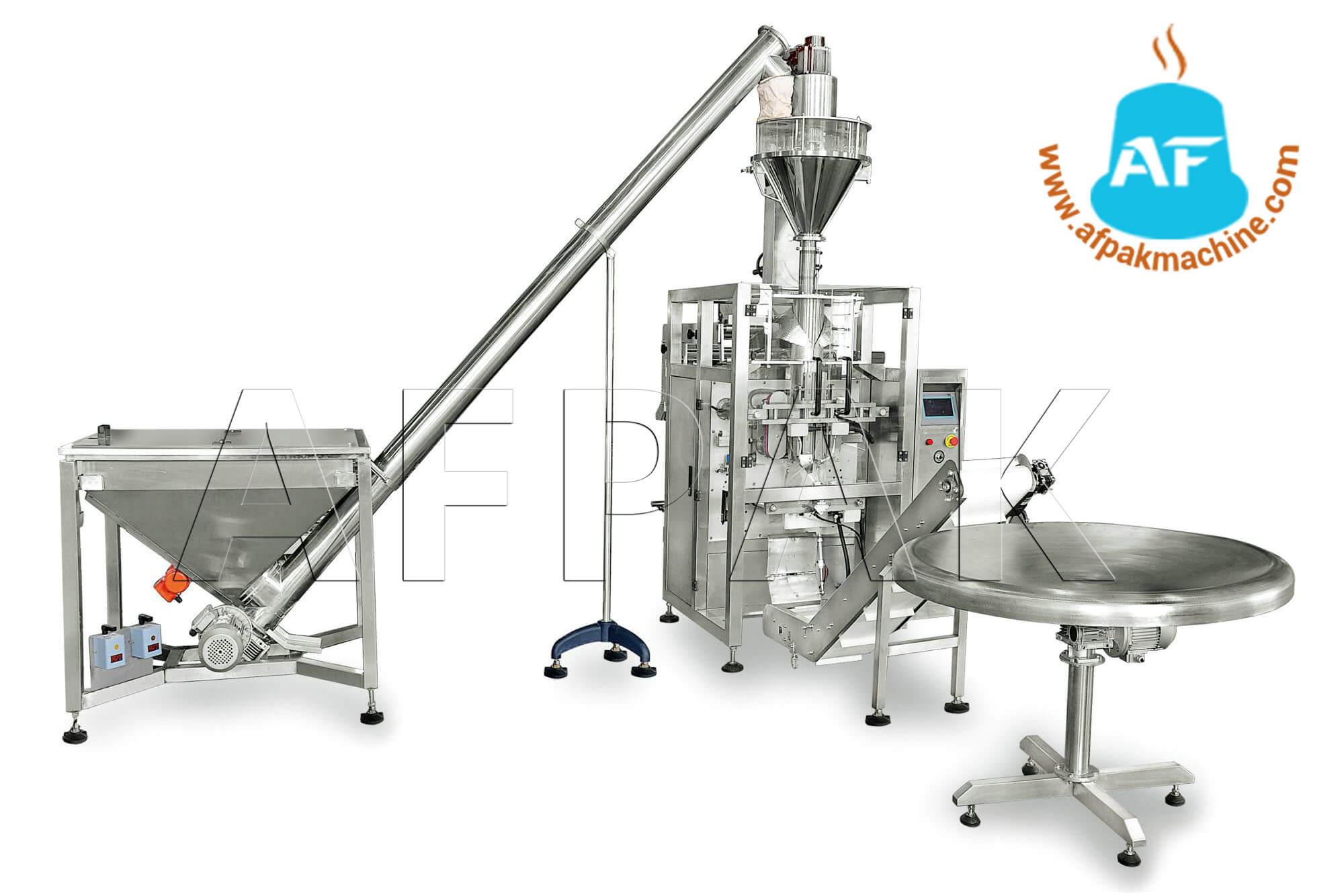 coffee powder filling sealing machine
