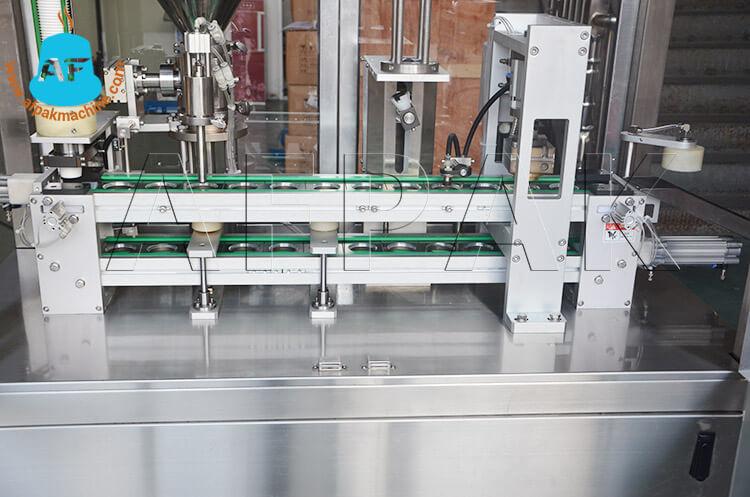 Cup liquid filling sealing machine 1