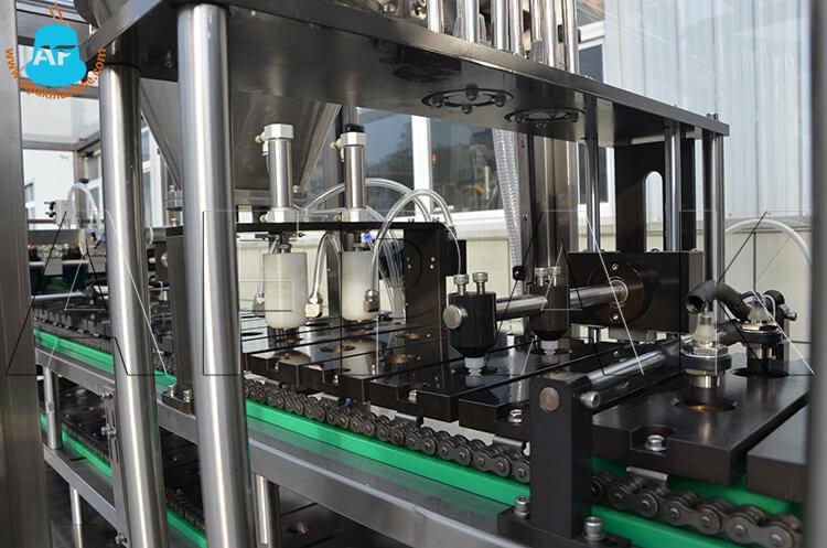 coffee capsule filling sealing machine