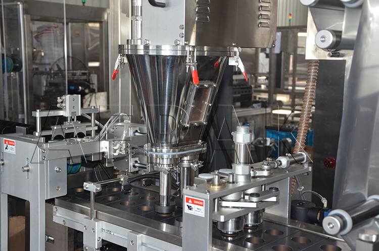 filling and tamping system