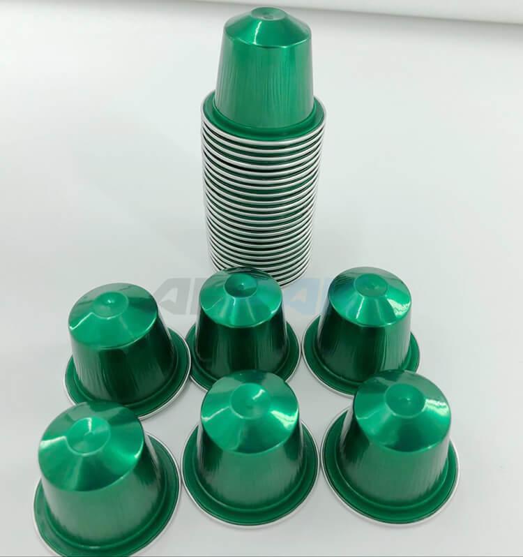 aluminum Nespresso capsules 2