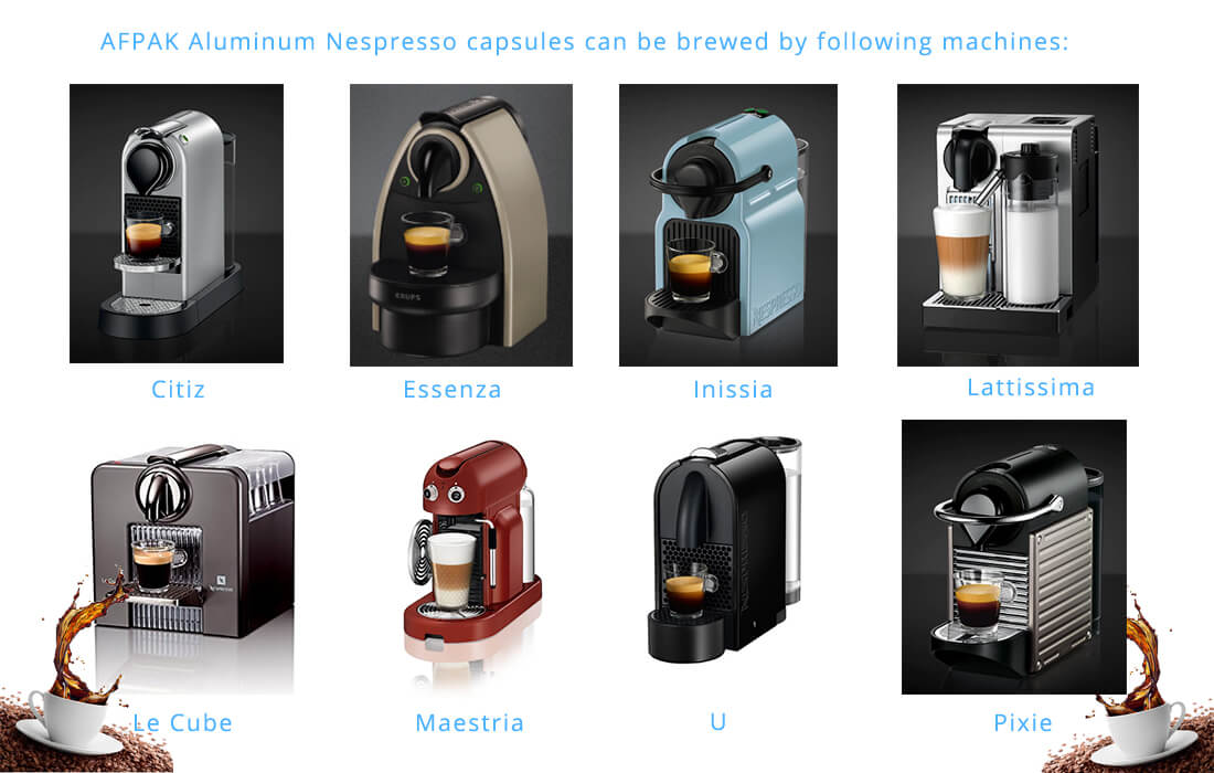 application of aluminum nespresso capsules
