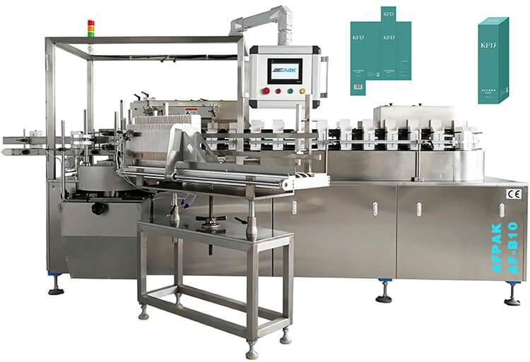 box cartoning packaging machine