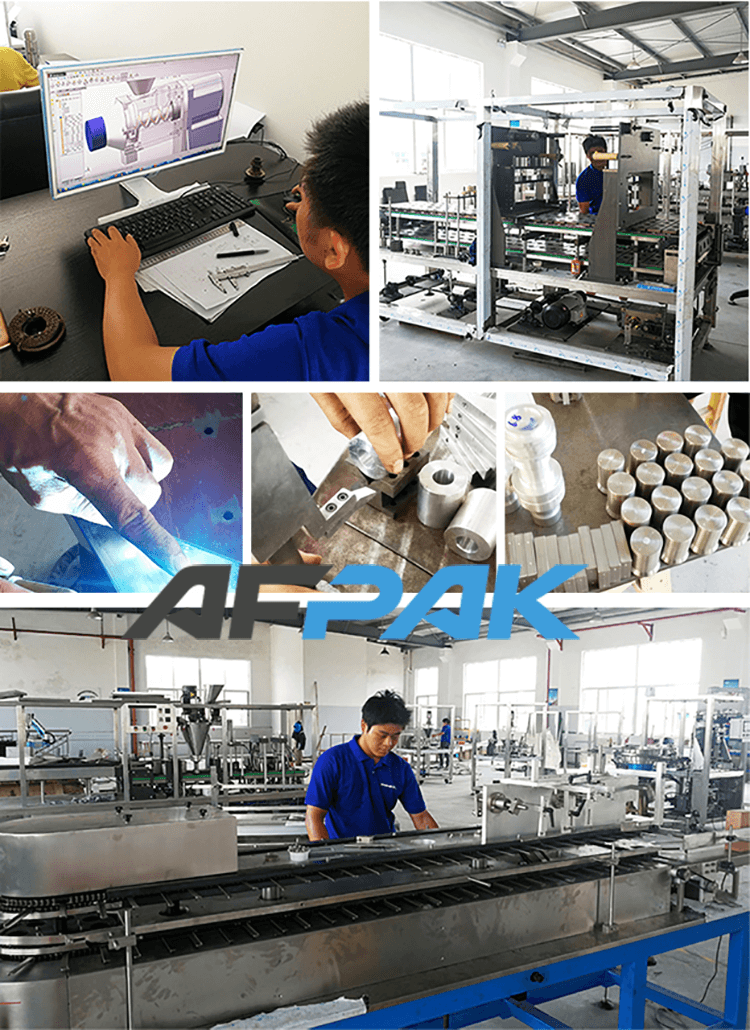box packaging machine factory