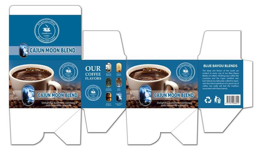 K cup package box