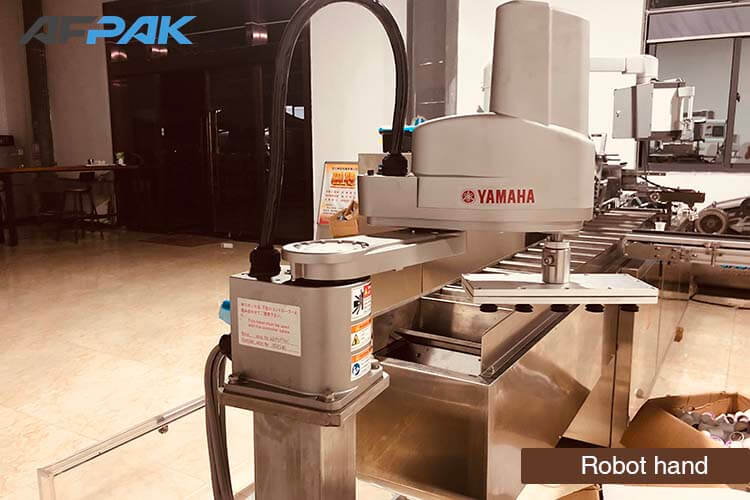 robot hand of K cup packaging machine