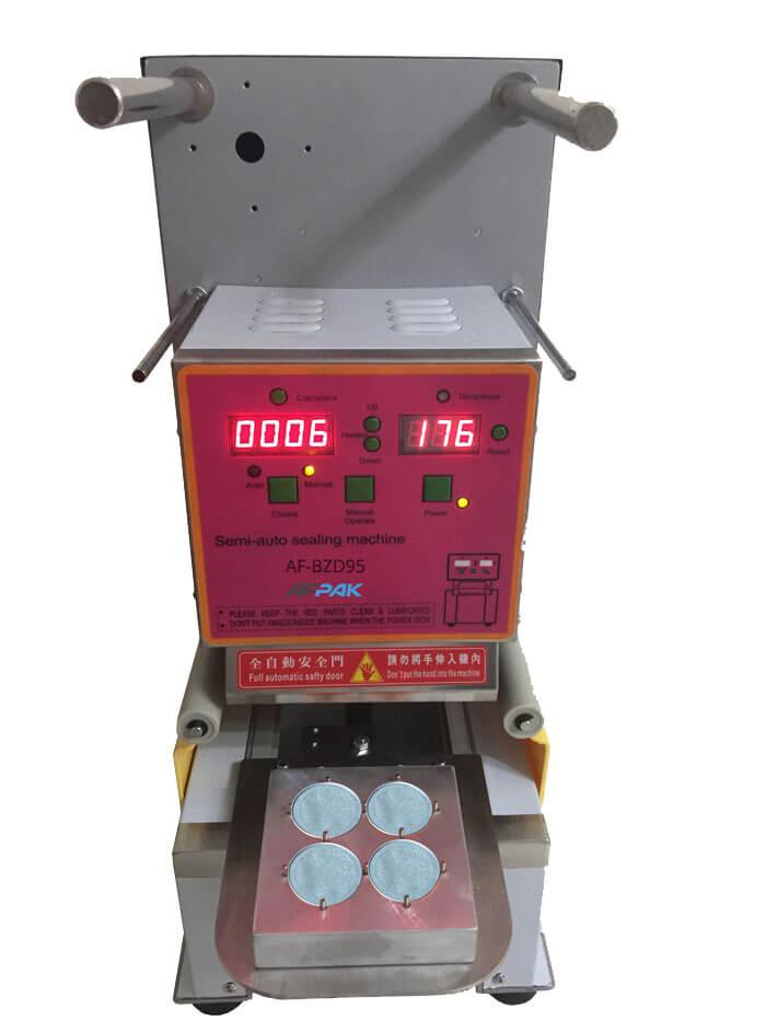 Aluminum Nespresso capsule sealing Machine
