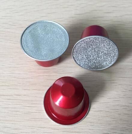 aluminum nespresso capsules