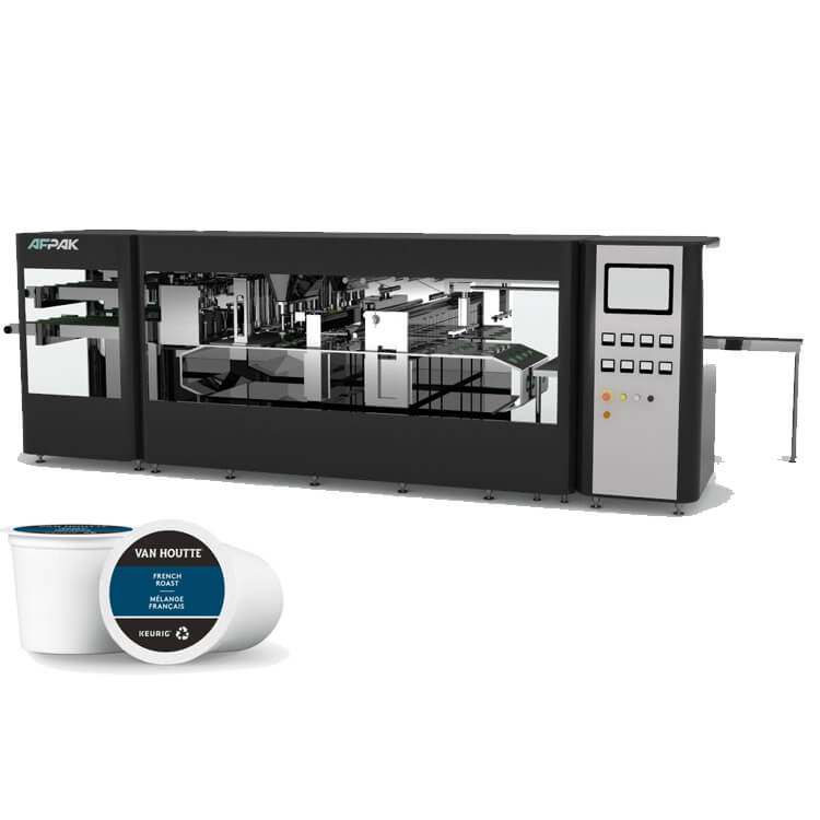 h4 K cup filling and sealing machine