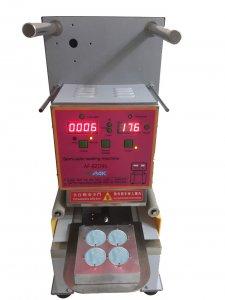 K cup sealing machine