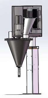 Filling station of K cup filling machines