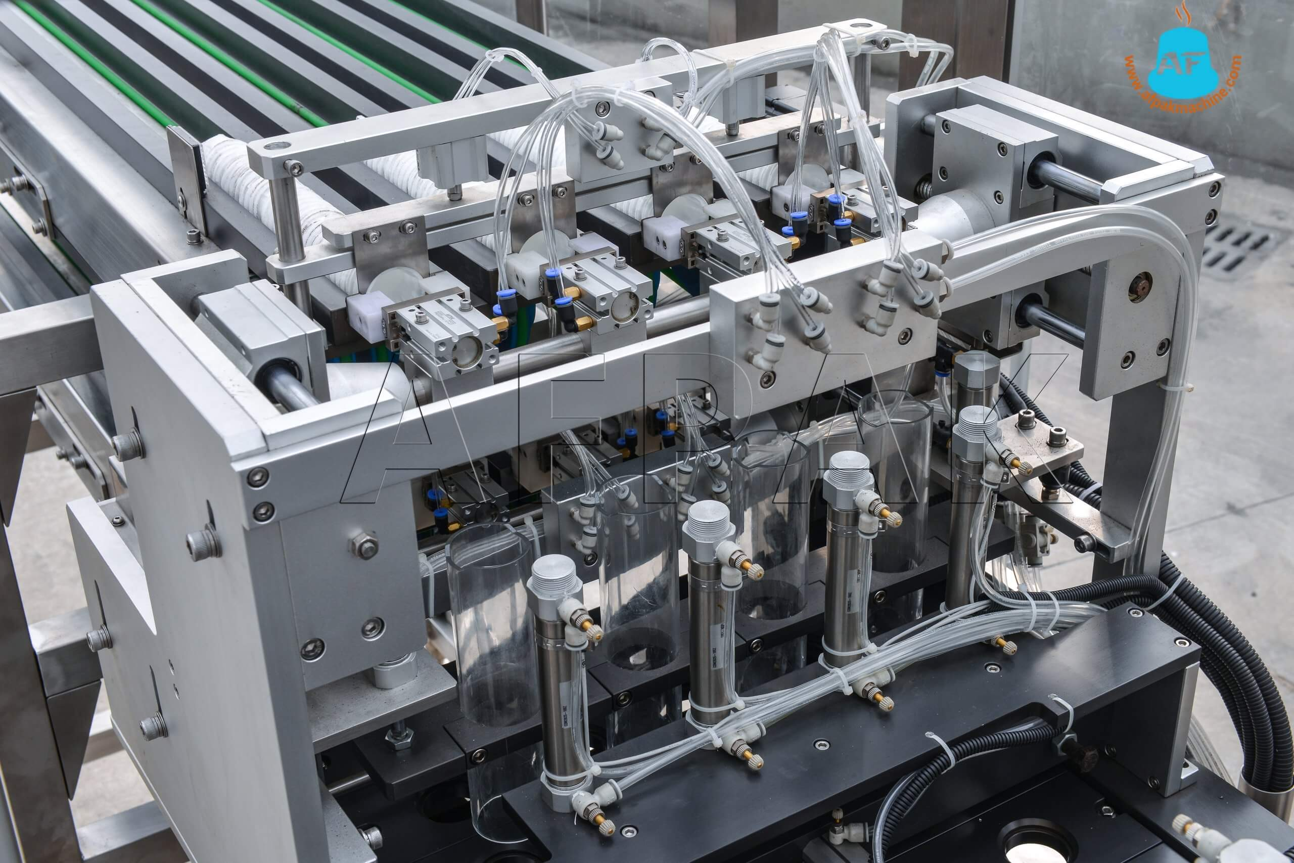 K cup filling machines filter dropping system