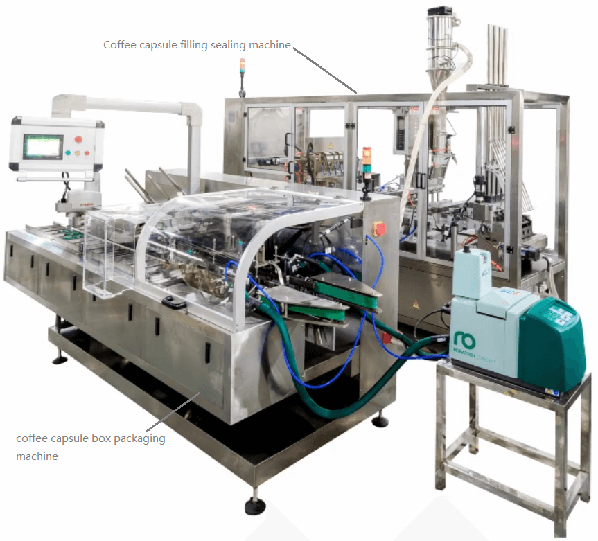 coffee pod packaging machine manufacturer