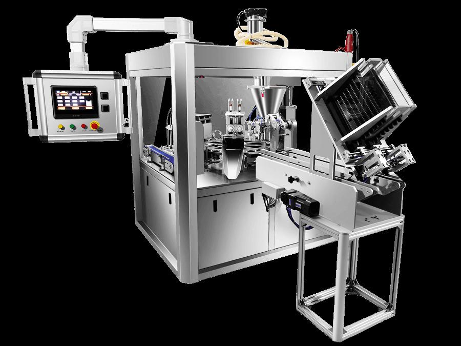 AF120 coffee capsule filling machine 2