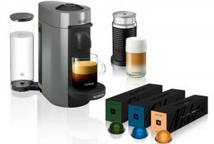 Nespresso Coffee and Espresso Machine Bundle