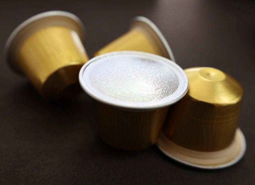 aluminum nespresso capsule filler samples