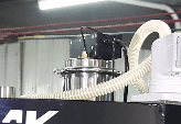 Vacuum supplier top of RN1S K cup manufacturing machine