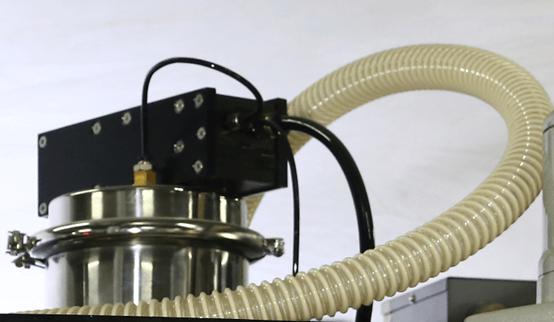 Top of vacuum loader on K cup filler machine