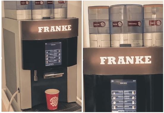 Franke Pura coffee maker