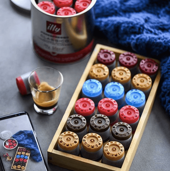 Illy capsules package