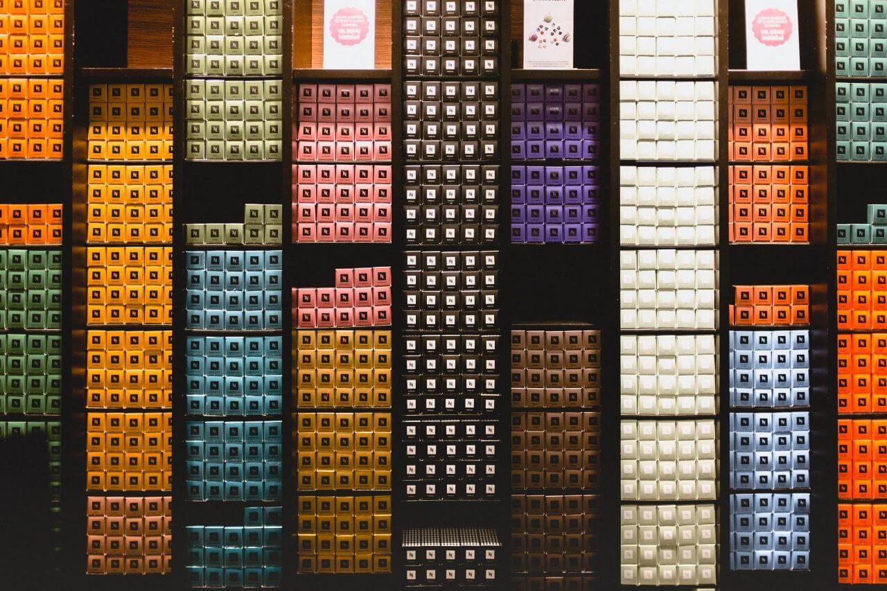 Nespresso showroom