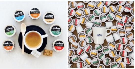 lavazza brand coffee capsules