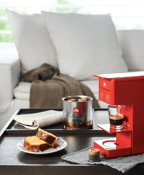 Illy capsules brewer
