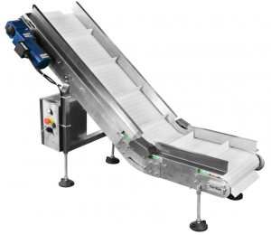 output conveyor of coffee bag packing machine