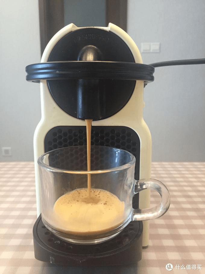 Nespresso making