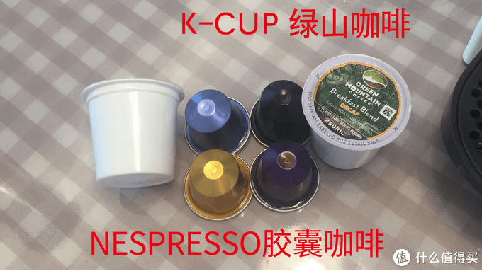 K-cup and Nespresso